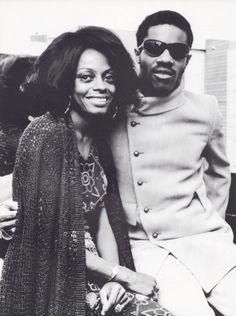 Diana Ross & Stevie Wonder