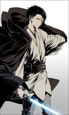 Shingeki no Kyojin - Levi - Star wars