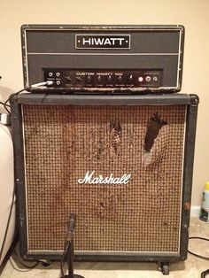 Guitar Rig, Guitar Pedals, Music Guitar, Marshall Amplification, Music Down, Valve Amplifier, Wall Of Sound, Bass Amps, Cool Gear