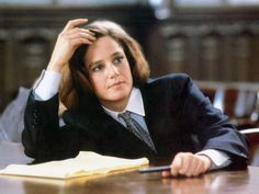Debra Winger as a Lawyer in Legal Eagles - with Robert Redford and Daryl Hannah
