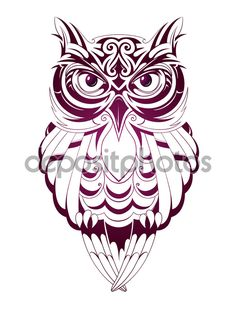 Owl Tattoo Design Ideas The Best Collection Top Rated Stylish Trendy Tattoo Designs Ideas For Girls Women Men Biggest New Tattoo Images Archive Owl Tattoo Design, Tattoo Designs, Trendy Tattoos, New Tattoos, Cool Tattoos, Tribal Owl Tattoos, Buho Tattoo, Tribal Animals, Owl Vector