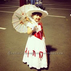 Homemade Mary Poppins for a Girl... Coolest Halloween Costume Contest