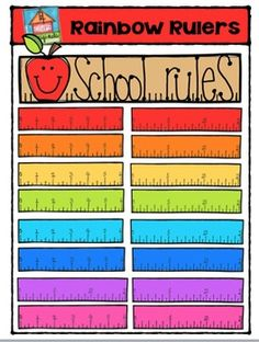 YEAH! So excited to share Rainbow Rulers with you!This is my 200 votes Freebie for you!I am so grateful and appreciative of your comments and feedback!Have an awesome day ...Patti********This clip art set includes 20 images. There are 17 vibrant coloured images and 3 black and white images.This set includes rulers in eight colours (red, orange, yellow, green, turquoise, blue, purple and pink) in both cm and inches.If you like this set I'd love to have your feedback for my shop.