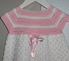 Ny heklet kjole ca mnd, se mål Crochet Top, Diy, Tops, Women, Fashion, Threading, Moda, Bricolage, Fashion Styles