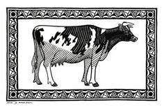 Richard Bawden Cow