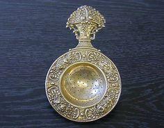 Pretty Dutch Silver Tea Leaf Strainer 800 Silver 55g | eBay