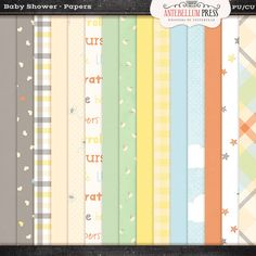 Antebellumpress Baby Shower Papers