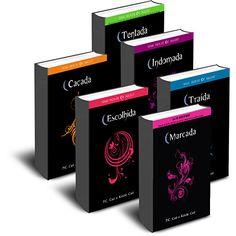 House Of Night (6 livros). Autor:  P.C. Cast. Os 6 livros estão em ótimas condições, sem manchas ou rasuras. Apenas R$80,00 ou 15 cada.
