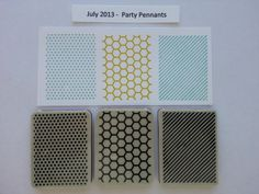 This is the stamp set that was included with the July 2013 Kit - Party Pennants.