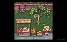 "DYA Games on Twitter: ""Plenty of lemons! @Pixel_Dailies #pixel_dailies #lemon #pixelart #kids #tree #lemonade #fruit #colorfulworld #shop https://t.co/3PyiJIvNai"""