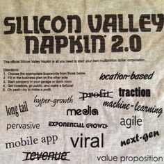 Guide to succes in Silicon Valley