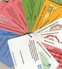 Student midwife resource cards