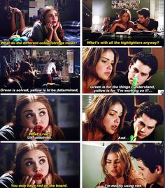 Teen Wolf - Malia and Stiles. this is the moment I started to like Malia. Teen Wolf Malia, Stiles And Malia, Teen Wolf Dylan, Teen Wolf Stiles, Teen Wolf Cast, Teen Wolf Quotes, Teen Wolf Funny, Teen Wolf Memes, Tv Quotes