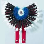 Authentic Native American Bustle Kits | Powwow Feather Bustle Kits from Crazy Crow Trading Post