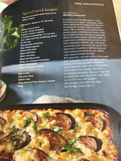 Moussaka, Easy Entertaining, Large Pots, Food To Make, Lamb, Oven, Spices, Dishes, Baking
