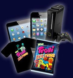 Play to Win in the Trolli Gummi Candy Instant Win Game