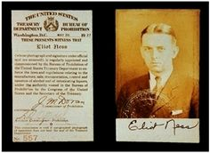 Elliot Ness - FBI agent who fought to bring down gangsters and the Mob