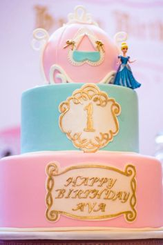 Cinderella Royal Ball Birthday Party via Kara's Party Ideas