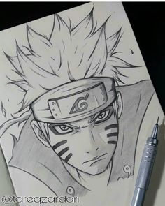 Likes, 45 Comments - Anime_art Naruto Sketch Drawing, Kakashi Drawing, Anime Drawings Sketches, Naruto Drawings, Anime Sketch, Naruto Shippuden Sasuke, Naruto Sasuke Sakura, Naruto Art, Anime Naruto
