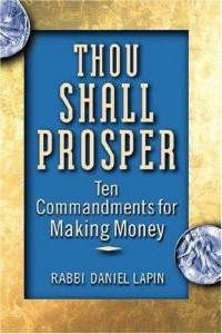 Rabbi Daniel Lapin details the ten permanent principles that never change, the ten commandments of making money if you will, and explores the economic and philosophic vision of business that has been part of Jewish culture for centuries. The book's focus is on making accessible to individuals of all backgrounds, the timeless truths that Jews have used for centuries to excel in business