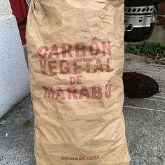 Cuban charcoal - carbón vegetal de marabú hecho en Cuba #grill #bbq #barbecue