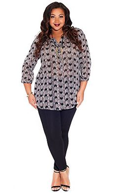 IGIGI Women's Plus Size Livia Tunic in Slate Tower 30/32 IGIGI http://www.amazon.com/dp/B00P7TM9AS/ref=cm_sw_r_pi_dp_bMI5ub0E0AYA4