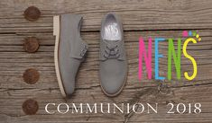 Boys linen communion shoes by NENS. The linen shoes for communion have gained strength this year and are the latest fashion trend. Visit our website for more models: www.nens.es #nens #communion #comunion #kidsfashion