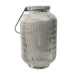 Geneva Lantern, Silver - www.furnish.co.nz
