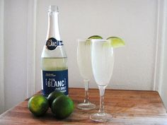 Champagne Margaritas - here's something to make for a party!