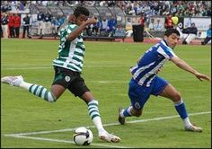 Rodrigo Tiuí marca golo na final da Taça de Portugal 2007-08 contra FC Porto