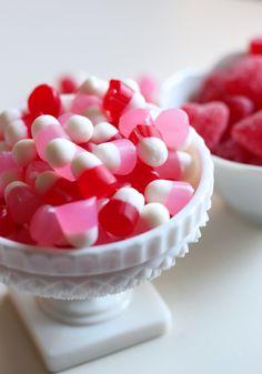 Valentines day gummy candy