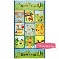 Ten Little Things quilt panel
