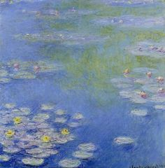 Nympheas. / By Claude Monet.