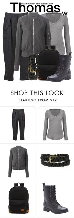 """""""Maze Runner - The Scorch Trials"""" by wearwhatyouwatch ❤ liked on Polyvore featuring mode, STELLA McCARTNEY, maurices, Rick Owens, Lulu*s, Vans, Lane Bryant, wearwhatyouwatch en film"""