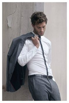 Fifty Shades of Grey star Jamie Dornan wore this around his waist for Hugo Boss. Do we need to note that it is 100% leather, has a silver buckle and it is hand washed with the best care possible. Express your passion and tight these Raven Max with it.