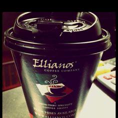 I love my job and Ellianos coffee <3