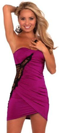 Read More About Strapless Sweetheart Neckline Cut Out Lace Applique Tulip Pleated Mini Dress …, http://style-smilez.tumblr.com/post/43333122717/strapless-sweetheart-neckline-cut-out-lace-applique , Pinned by http://pinterest.com/pinterestfella