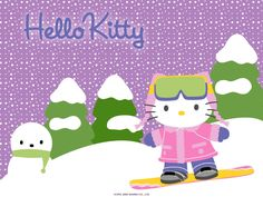 hello kitty winter - Buscar con Google