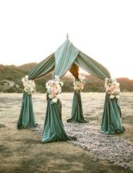 diy wedding arch sheers - Google Search