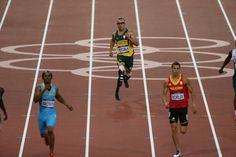 Oscar Pistorius (South Africa), Men's 400-Meter, Track and Field,