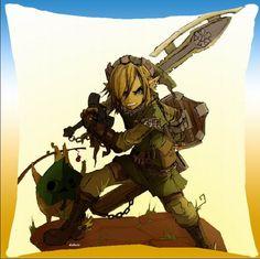 Zelda Link Pillow ZEPW7719
