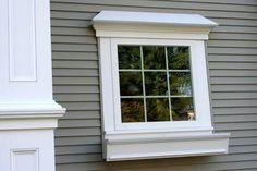 aluminium windows with white trim - Google Search