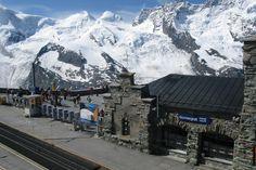 Gornergrat Train Station-Zermatt-Switzerland