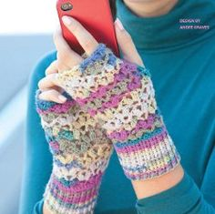 One Skein Lace Mitts from @Leisure Arts - A must-have winter accessory. This free crochet pattern is versatile and stylish.