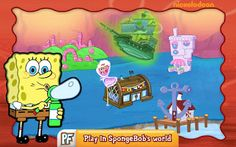 Spongebob Cartoon, Patrick Star, Game App, Spongebob Squarepants, Special Guest, Android Apps, More Fun, Family Guy, Toys