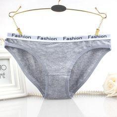 a7b256ae01f9 Seedrulia Sexy Underwear Women Soft Cotton Panties Women Thong 95% cotton  Intimate Ladies Briefs plus size