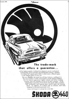 Škoda 1956 Bus Engine, Car Advertising, Old Signs, Old Ads, Car Car, Print Ads, Vintage Posters, Techno, Vintage Cars