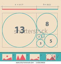 Golden Ratio,Golden Proportion vector illustration by Chuhail, via ShutterStock
