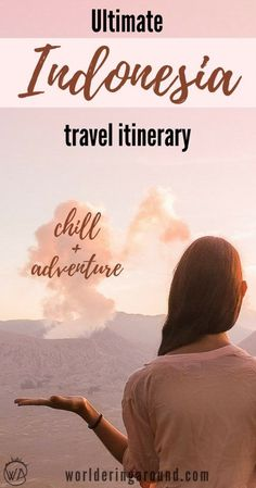 Indonesia 10 days travel itinerary, find the beautiful places to visit in Indonesia, Indonesia travel itinerary, Indonesia beautiful places, Ubud, Bali, Java, Gili islands, Indonesia travel tips   Worldering around #indonesia #bali #asia #travel #itinerary