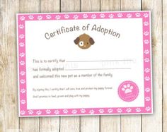 Doll adoption certificate template google search kalia for Cabbage patch kid birth certificate template